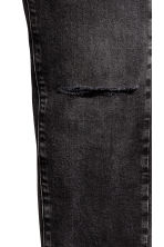 Skinny Low Jeans - Black washed out - Men | H&M CA 5